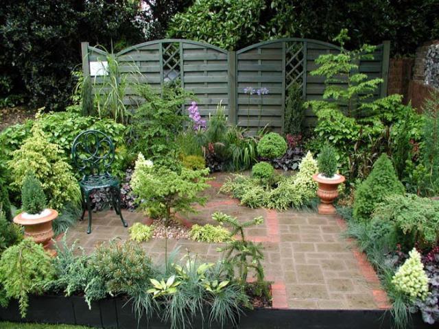 beautiful and shady home garden design ideas