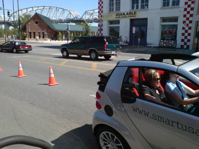 Driving a SmartCar!