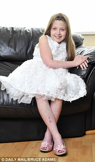 Charlea Armstead, 12, is one of only 82 people in the UK suffering from a rare form of dementia