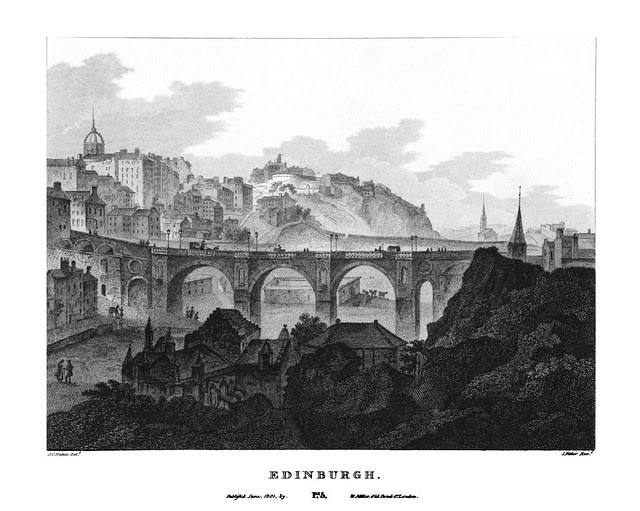 etching: Edinburgh