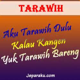animasi dp bbm tarawih    kangen lucu
