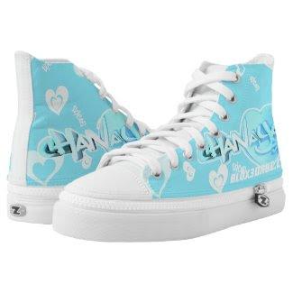Blox3dnyc.com Heart2 design for Chanaya R Printed Shoes