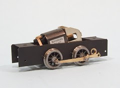 Chassis with wheels