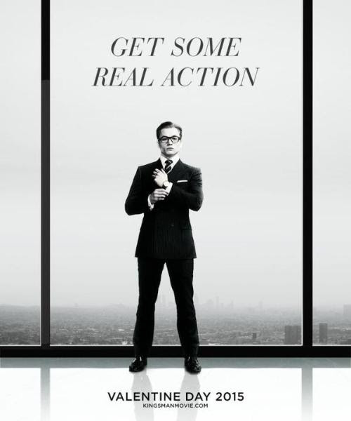 Kingsman posters for Valentine Day