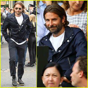 Bradley Cooper Checks Out a Wimbledon Match in London!