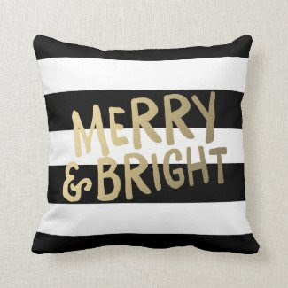 Shine Bright | Holiday Throw Pillow