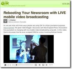 Rebooting Your Newsroom with LIVE mobile video broadcasting
