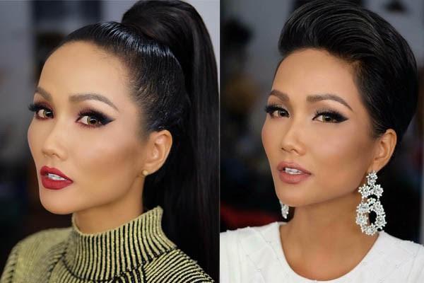 Hoa hậu HHen Niê ơi, cứ tóc ngắn thôi đừng để tóc dài và trang điểm đậm như này nhé! - Ảnh 8.
