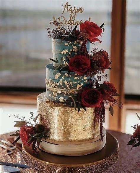 top  burgundy wedding cakes youll love deer pearl