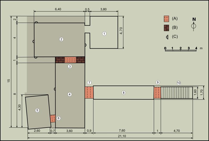 File:Tutankhamen Tomb layout.svg