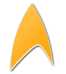 A stylized delta shield, based on the Star Tre...
