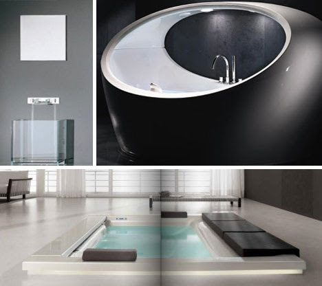 7 Beautiful Bathtubs and Bathroom Collections | WebUrbanist
