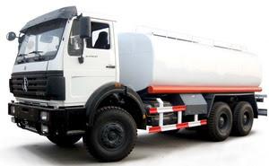 CONGO beiben fuel truck