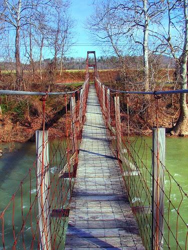 Suspended Footbridge
