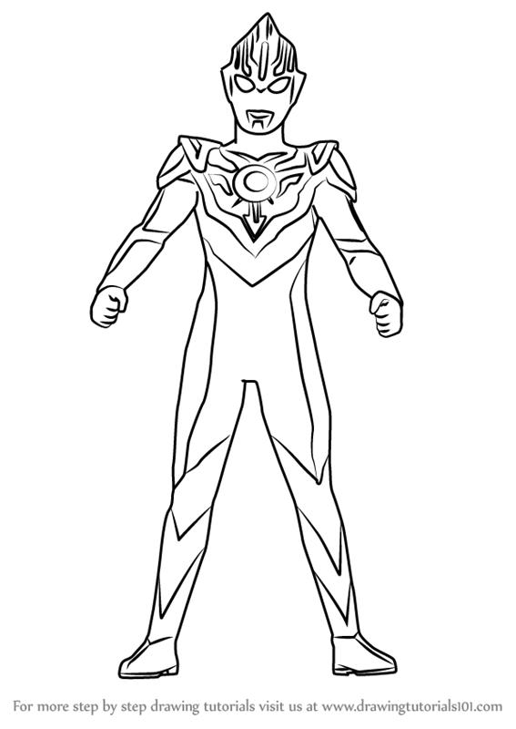 Catatanku Anak Desa Gambar Mewarnai Ultraman Orb
