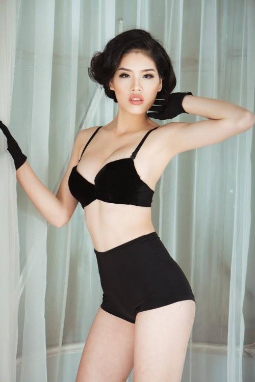 Loạt thí sinh nữ có hình thể nóng bỏng trước ngày đóng cổng bình chọn online Siêu mẫu VN - Ảnh 9.