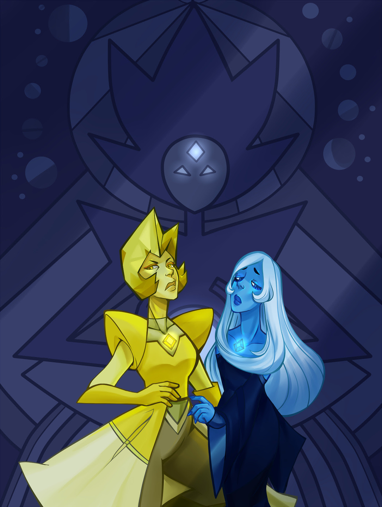 oh man the trial gave me some serious diamond hype!! they're quickly becoming some of my favorite characters tbh