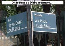 onde Deus e o Diabo se cruzam...
