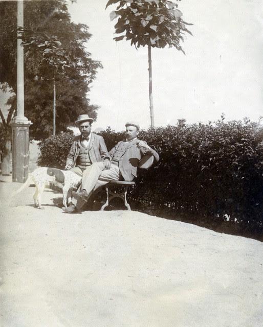 Paseo del Miradero en junio de 1905. Fotógrafo anónimo. Colección Luis Alba. Ayuntamiento de Toledo