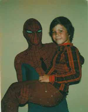 spiderman mall appearance