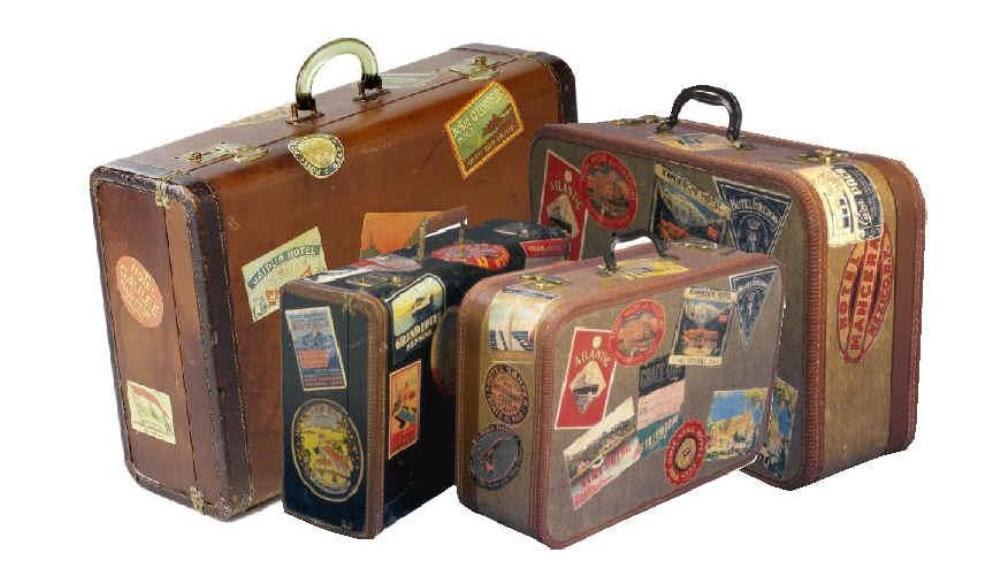 Resultado de imagen de maletas de viaje