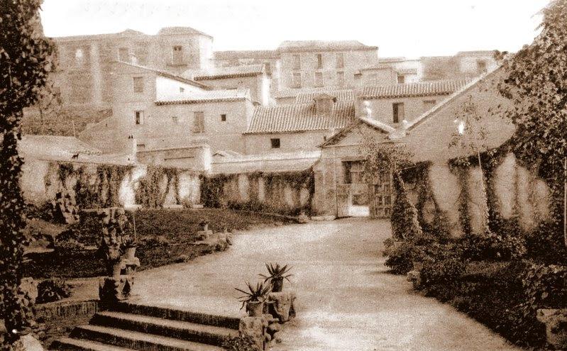 Palacio de Fuensalida visto desde la Casa del Greco a comienzos del siglo XX