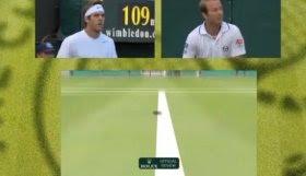 Risultati immagini per occhio di falco tennis