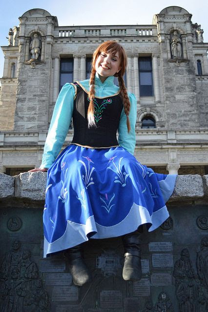 Disney Princess Series Part 9 – Princess Anna (Frozen)