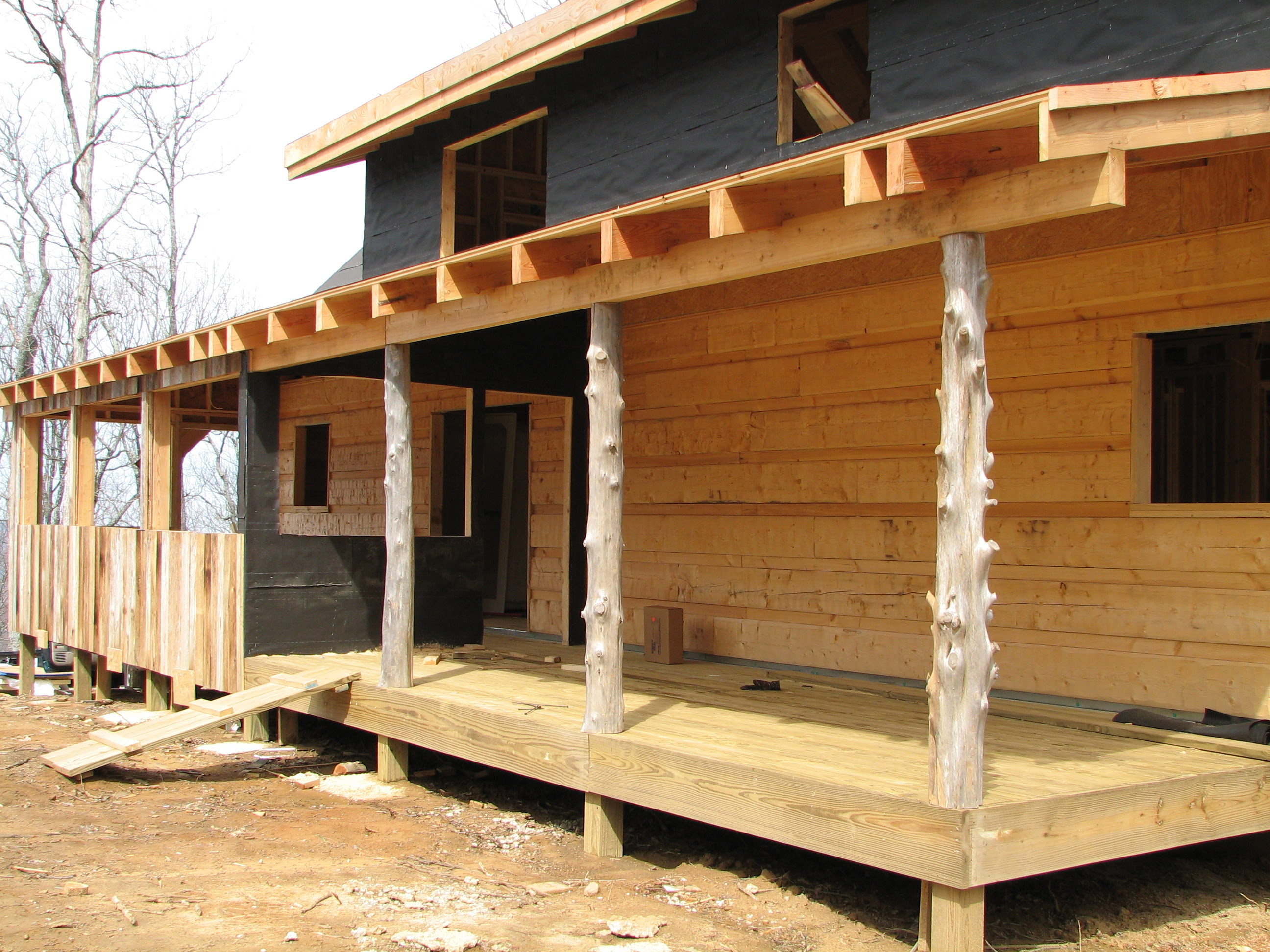 Features   Wood House Log Homes LLC