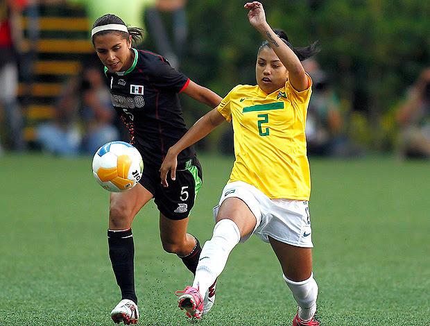 Maurine futebol brasil pan Guadalajara (Foto: VIPCOMM)
