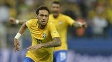 Neymar mais um golaço pela seleção