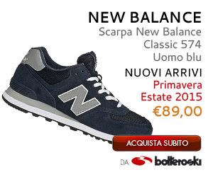 Scarpe New Balance Classic 574 Uomo blu a 89,00€ da Botteroski