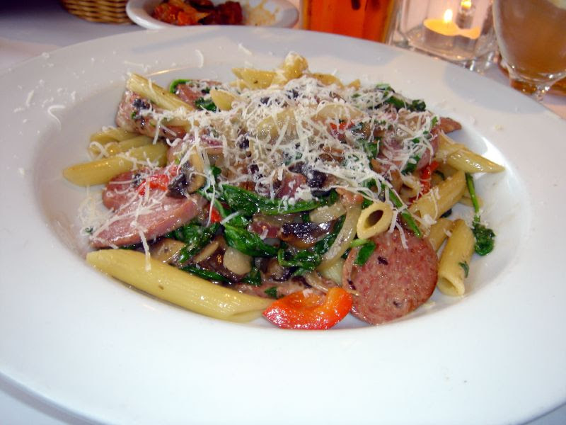 Penne with Italian Sausage