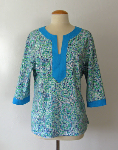 Swirl tunic for J