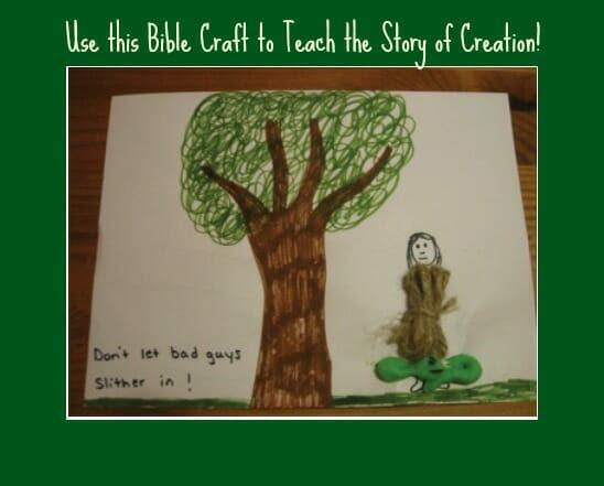 creation bible activity