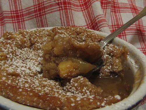 Apple Caramel Self-Saucing Pudding