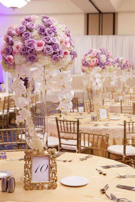 Lavender and Pink Wedding at Marriott Marquis ? ArtQuest