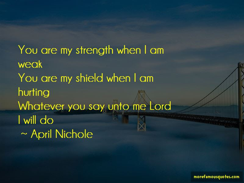 You Are My Shield Quotes Top 47 Quotes About You Are My Shield From