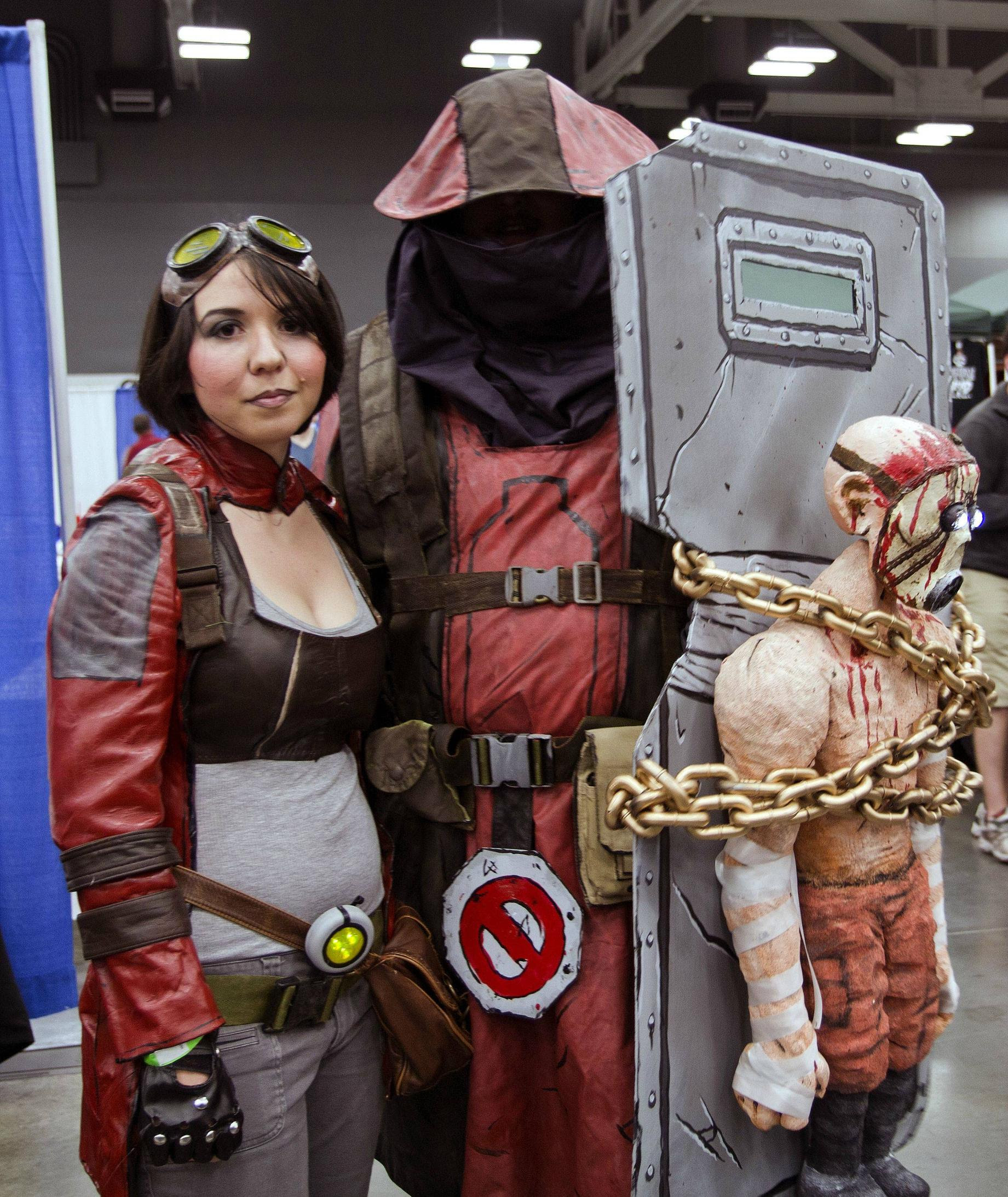 Amazingly well done Patricia Tannis & Nomad from Borderlands 28 at