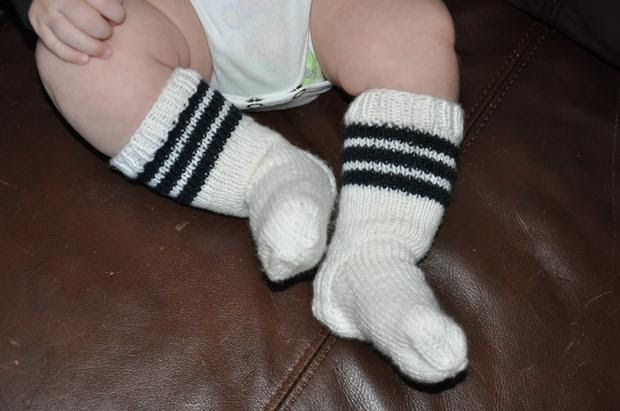 Baby Tubies Socks - Free Knitting Pattern