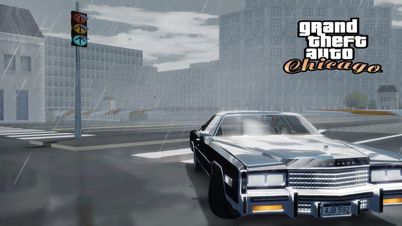 Gta 4 Gta Chicago Driver 2 Map Mod Grand Theft Auto