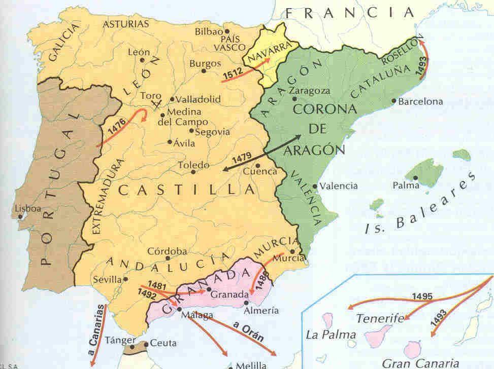 Resultado de imagen de reino de granada mapa