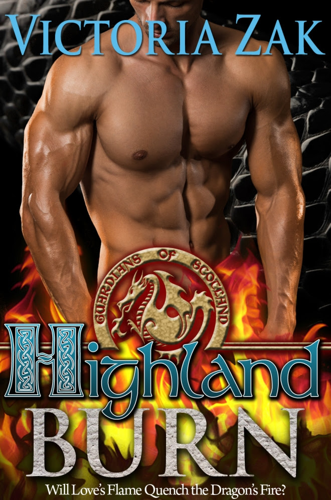 Highland Burn - Book Cover