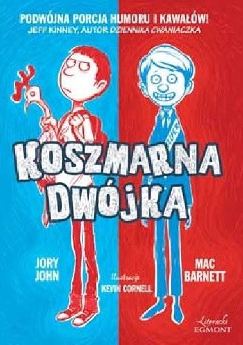 Okładka książki Koszmarna dwójka
