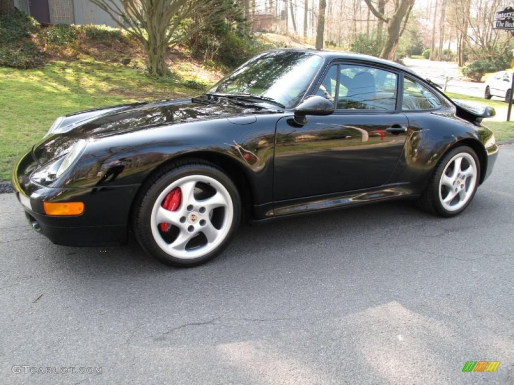 Image result for 1996 Porsche 911 turbo black