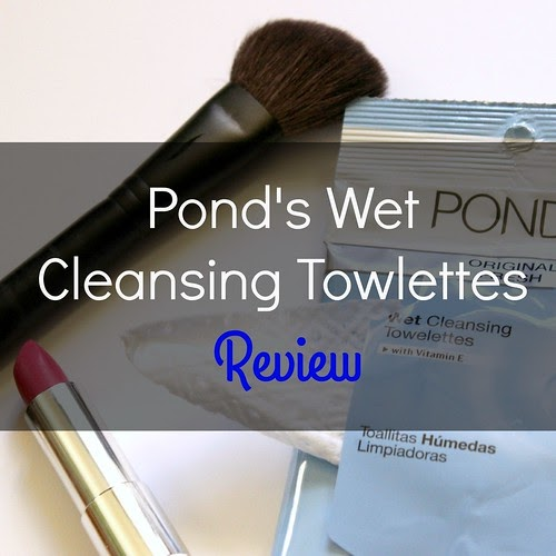 Penniless Socialite: Pondu0026#39;s Wet Cleansing Towelette Review