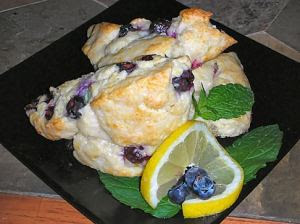 Glennis' Blueberry Scones