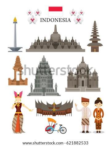 Indonesia Stock Vectors, Images  Vector Art  Shutterstock