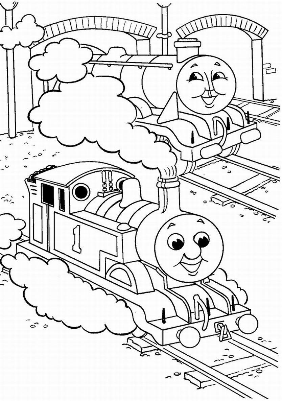 Mewarnai Kereta Api Thomas Untuk Anak Auto Electrical Wiring Diagram