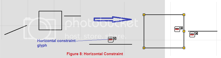 horizontal constraint demo